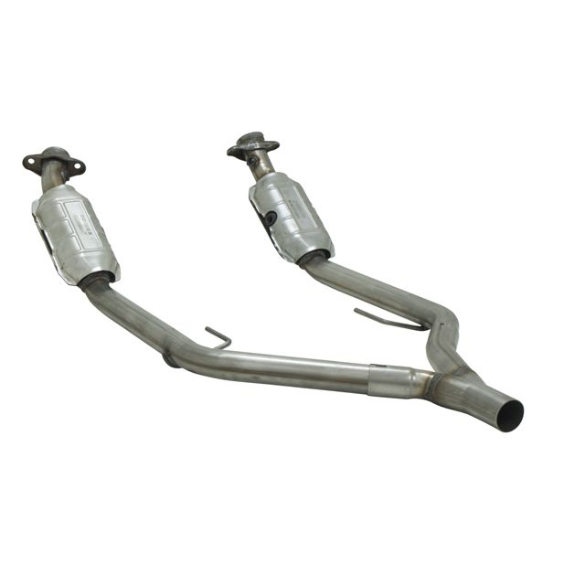 California Legal Catalytic Converter >> Flowmaster 2020040 Direct Fit Catalytic Converters for 2005-2009 Mustang 4.0L V6 - U.S. Muscle Mods